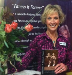 Colleen Fisher, Speaker, Athletic Champion and new author!